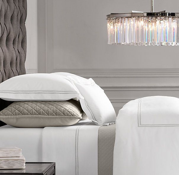 restoration hardware bedding collections belgian linen reviews duvet covers hotel satin stitch white collection