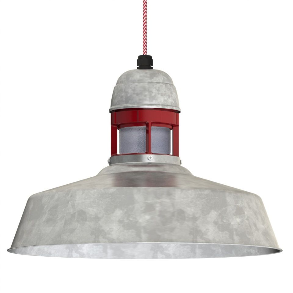 The sydney cord hung pendant by barnlightelectric favorite this cord hung industrial led light pendant combines a rustic cast guard and glass with our iconic warehouse shade to create a ceiling mounted uplight arubaitofo Image collections