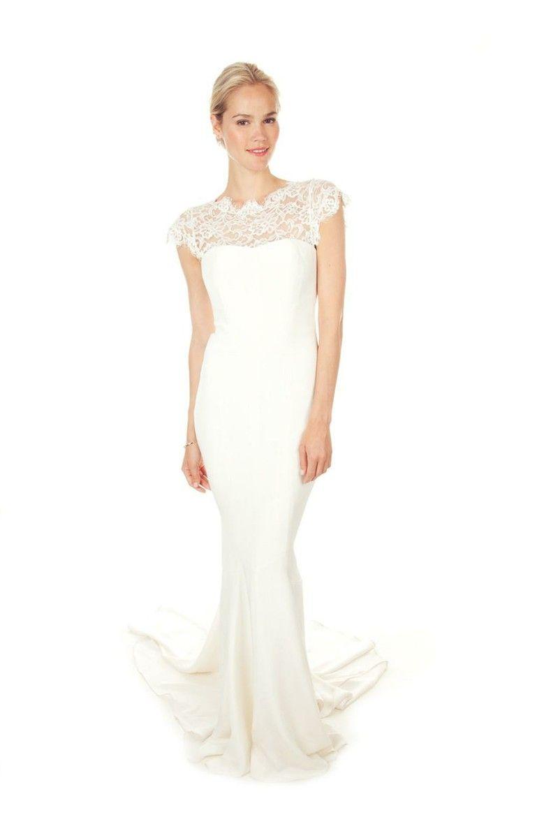 Nicole Miller Lauren Bridal Gown | Flawless Beauty | Pinterest