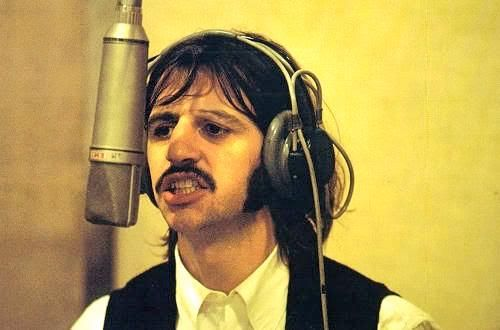 The Beatles Abbey Road Recording Session 1969 Ringo Starr