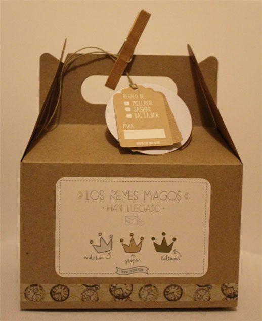 Las cajitas de los reyes magos diy craft ideas rey - Ideas de regalos para reyes ...