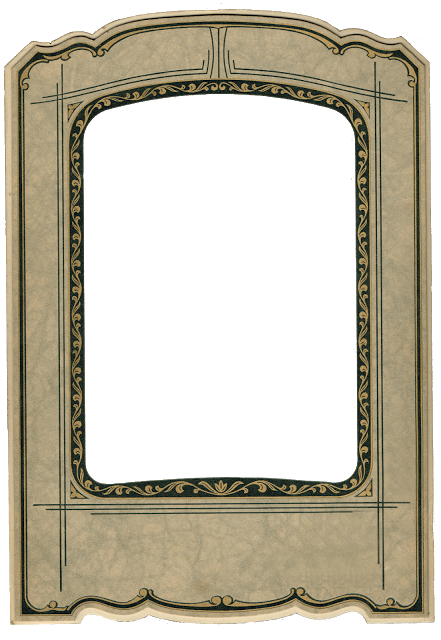 Antique Photo Frame - Antique Graphics Wednesday | Pinterest ...