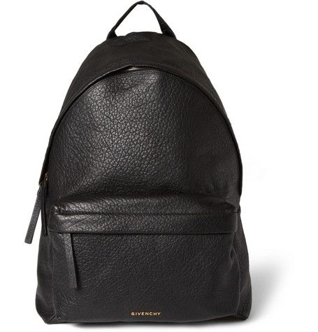 Givenchy Full-Grain Leather Backpack | MR PORTER YES YES | 2014 ...