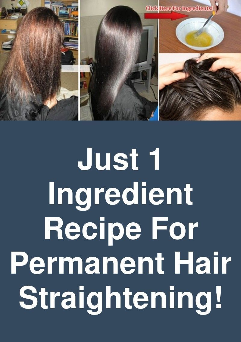 hair beauty Just 1Ingredient Recipe For Permanent Hair
