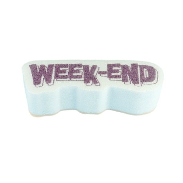 """Tampon Mousse """"Week-End"""""""