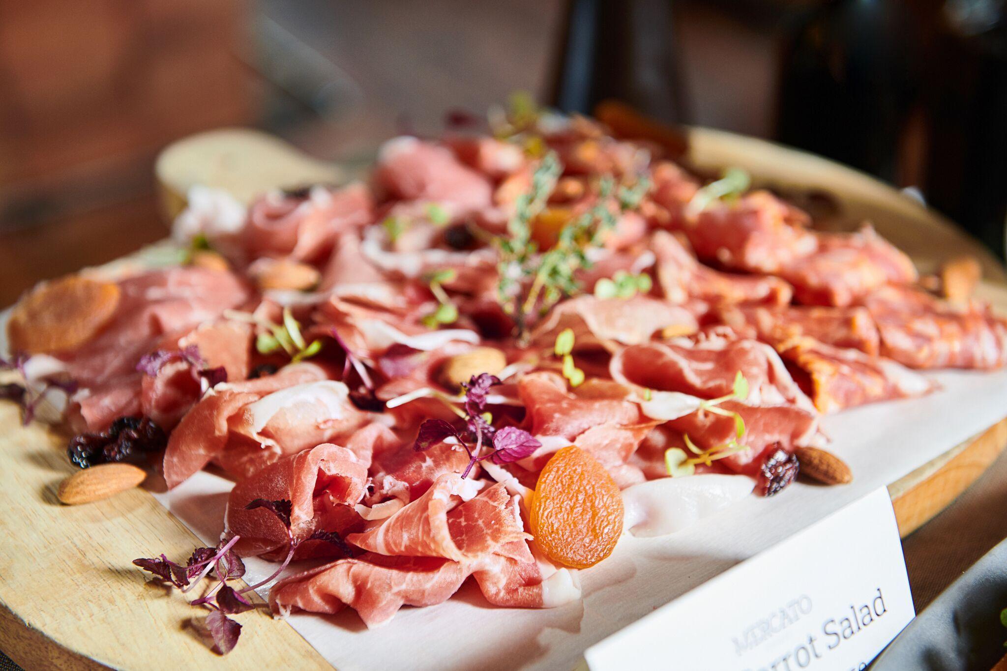 New Italian Weekend Brunch Buffet Cured Meats Mercato Hong