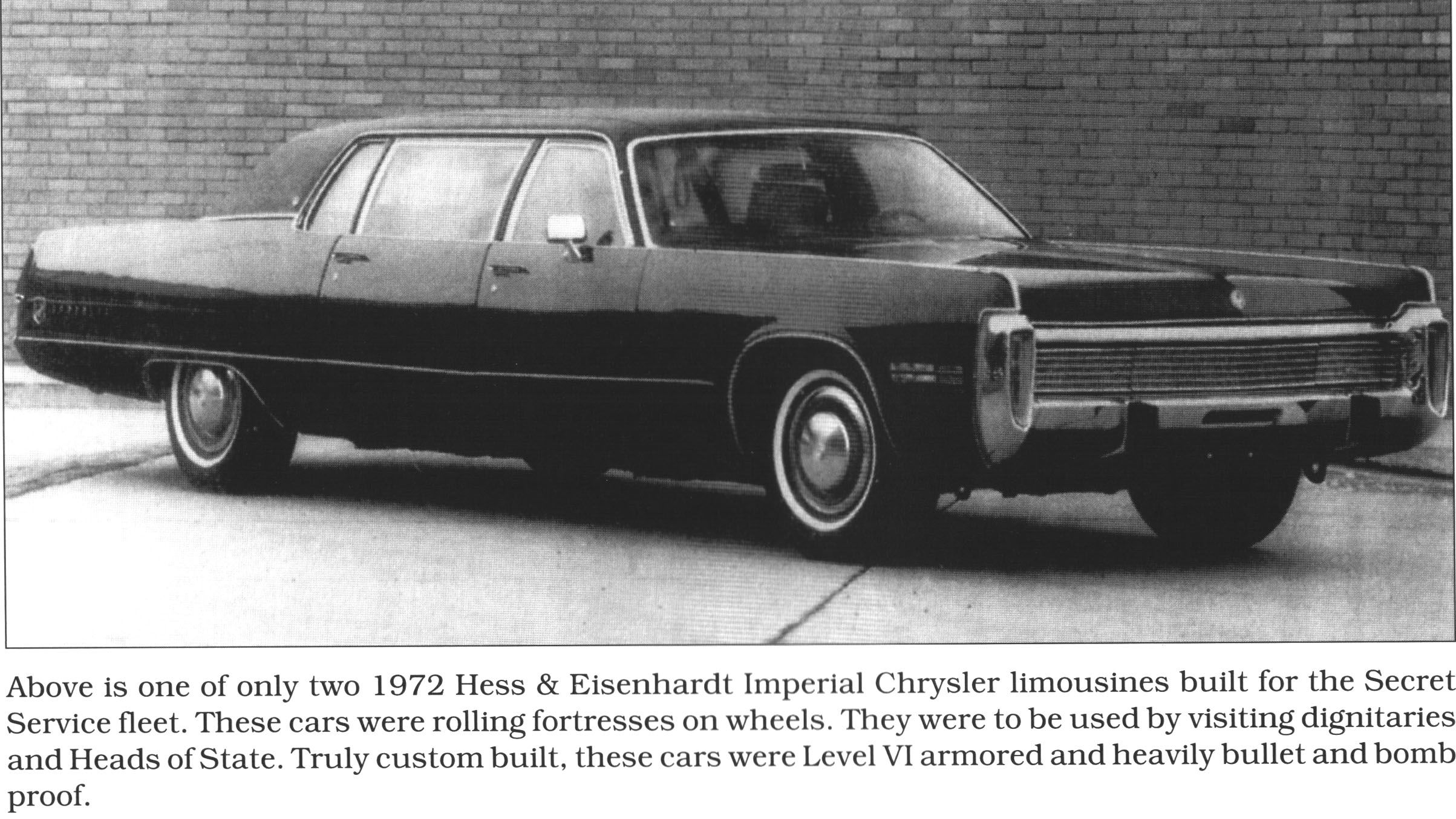 1972 Chrysler Imperial Limousine By Hess And Eisenhart One Of Two