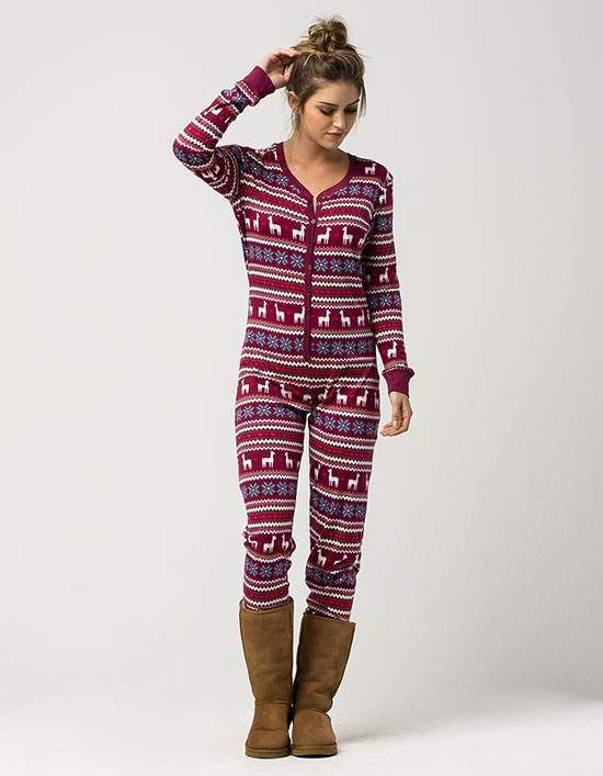 bf9b1edfe COSMIC LOVE Llama Womens PJ Onesie | Clothes | Christmas dress women ...
