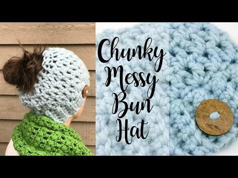 How to Crochet a Chunky Hat in 30 Minutes! Free Quick & Easy Crochet ...