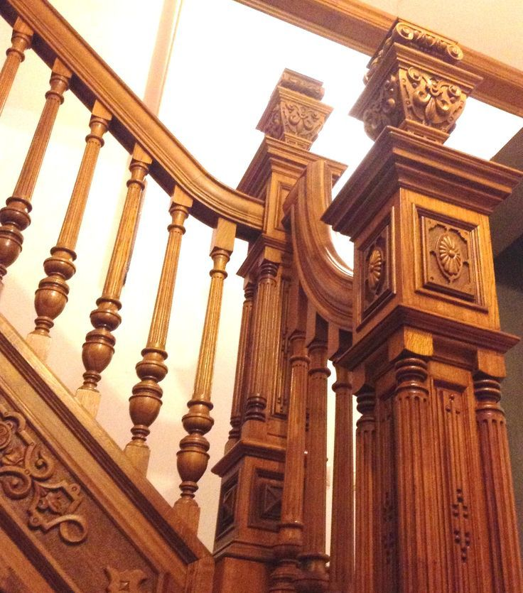 Beautiful Interior Staircase Ideas And Newel Post Designs: Image Result For Newel Post Design Traditional Applique