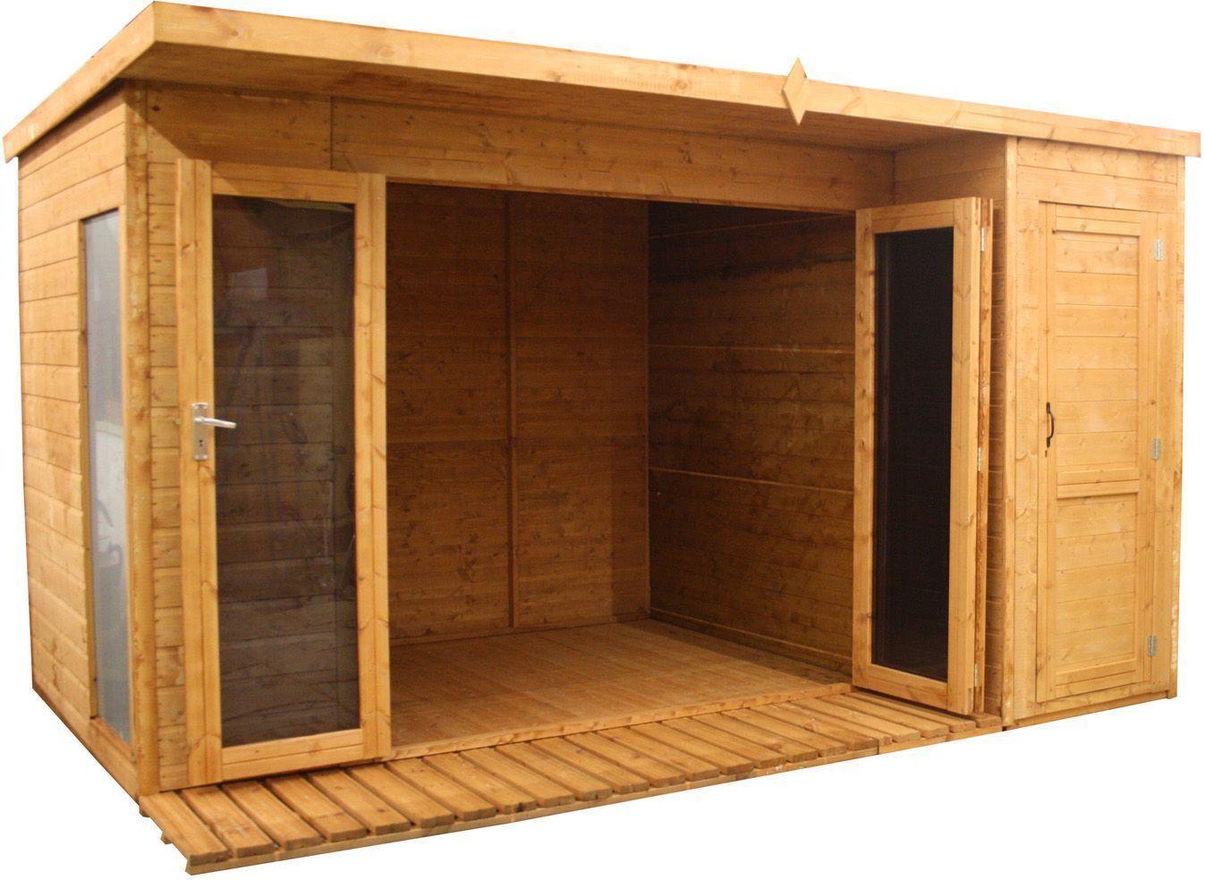 mercia garden wooden garden room cabin shed combi 12 x 8ft cabin