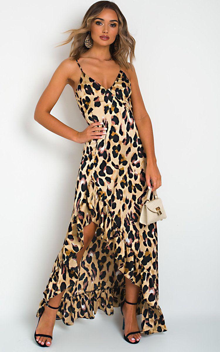 IKRUSH Womens Jess Snake Print Mini Dress