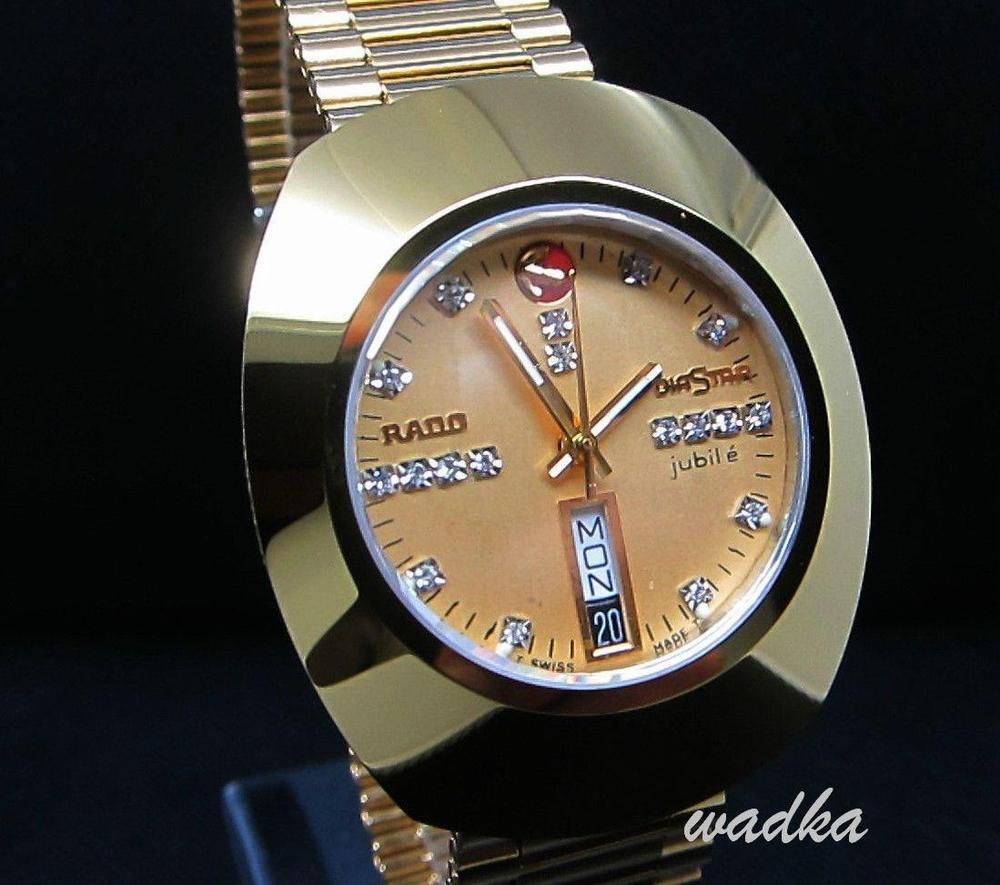 Original Vintage Rare Gents Rado Diastar Jubile Day Date Swiss Men S Wrist Watch Rado Luxurydressstyles Wristwatch Men Wrist Watch Vintage Watches