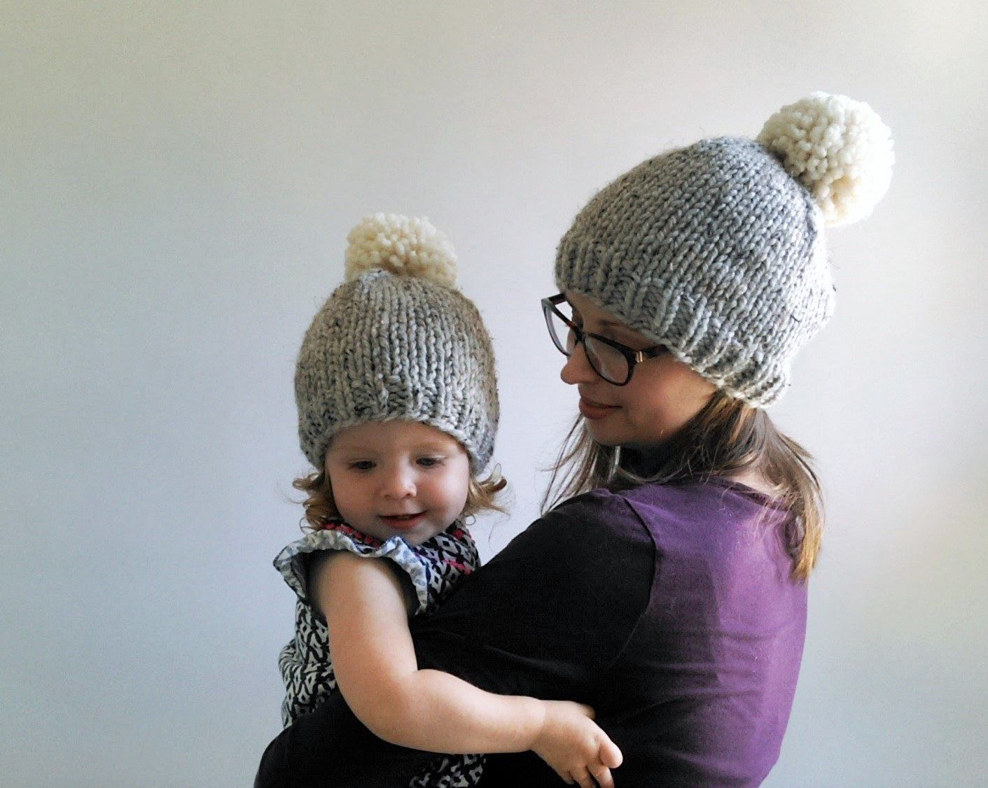 chunky knit toddler hat pattern instructions