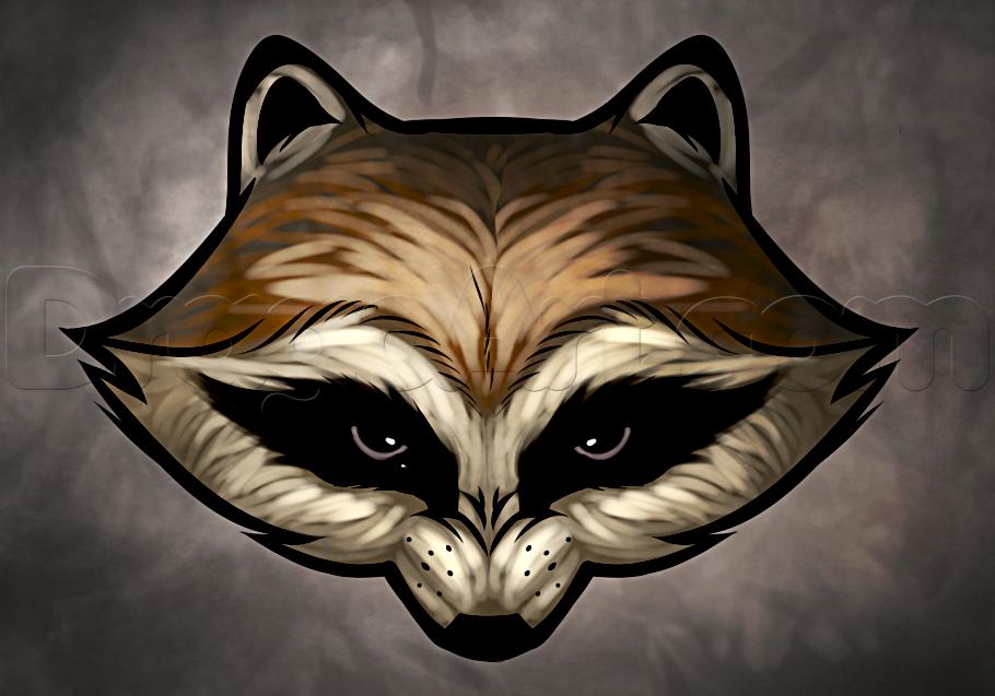How To Draw Rocket Raccoon Easy Tattoos Pinterest Rocket