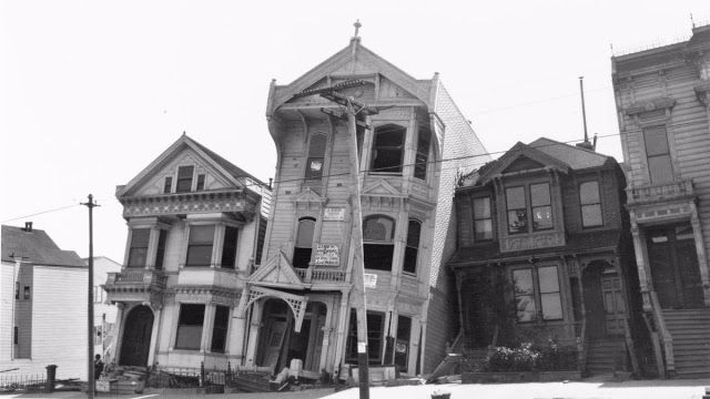 buildings damaged by the san francisco earthquake 1906 photograph jack london
