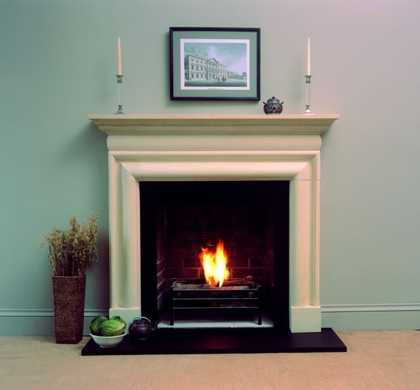 This Is One Of Our Cast Or Reconstituted Stone Fireplaces The