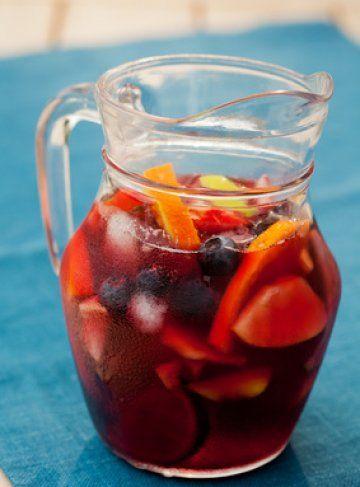 Ricetta Per Sangria.Brocca Sangria Ricette Di Cocktail Bevande Aperitivo Ricette