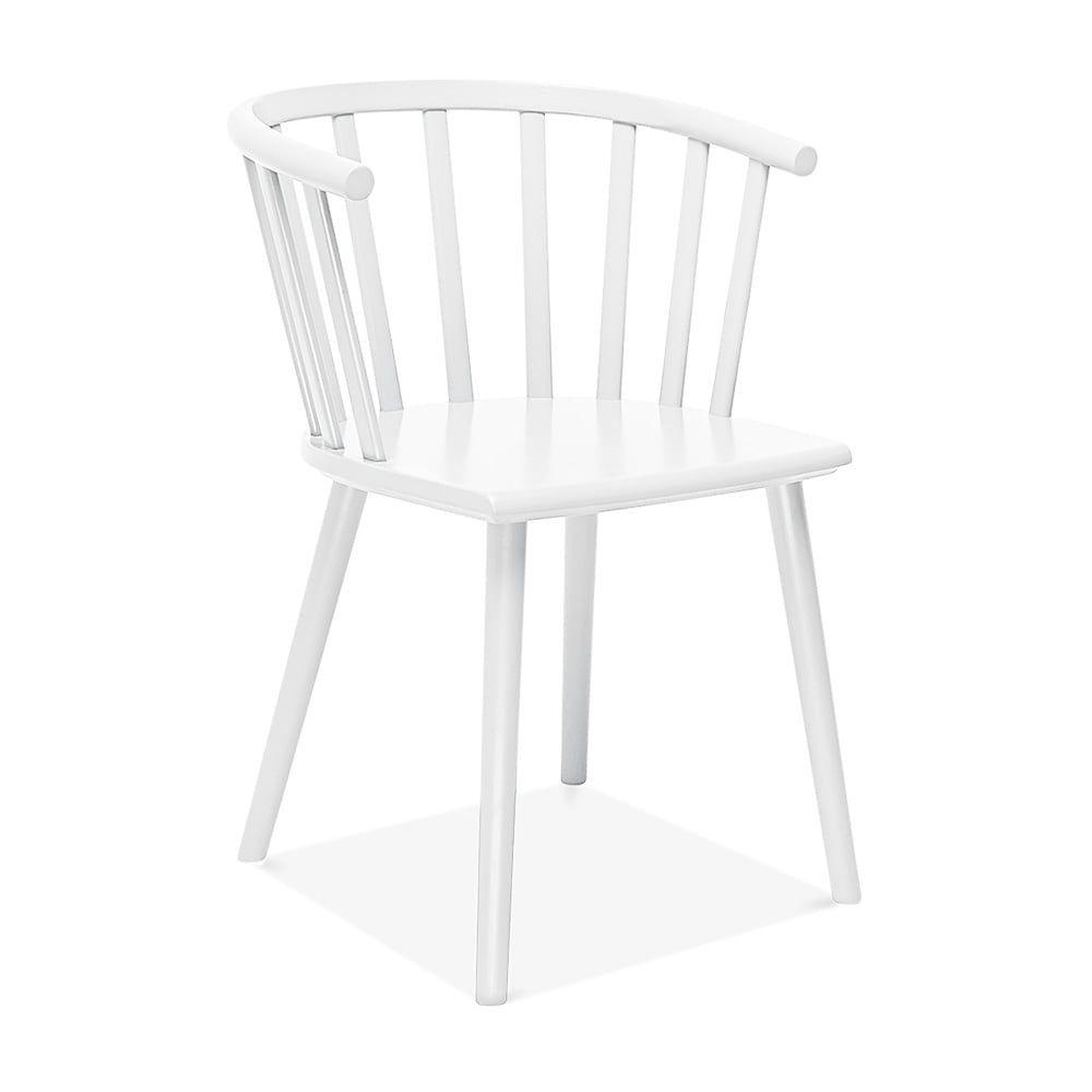 Esszimmerstuhl Weiss cult living busket w style holz esszimmerstuhl weiß furniture