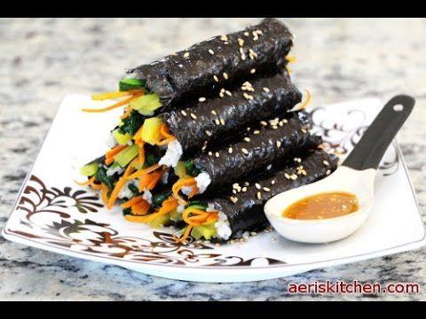 Korean food addictive kimbap youtube aris kitchen korean food addictive kimbap youtube forumfinder Gallery