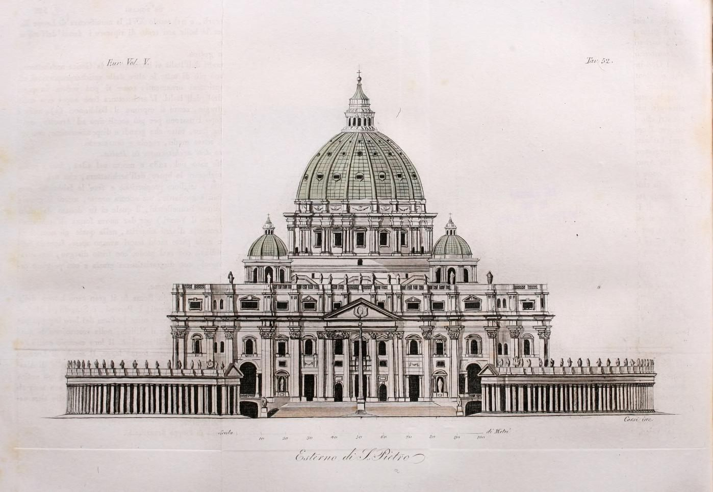 Architectural Drawing Of St Peter S In Rome Architecture Drawing Renaissance Architecture Landscape Architecture Drawing