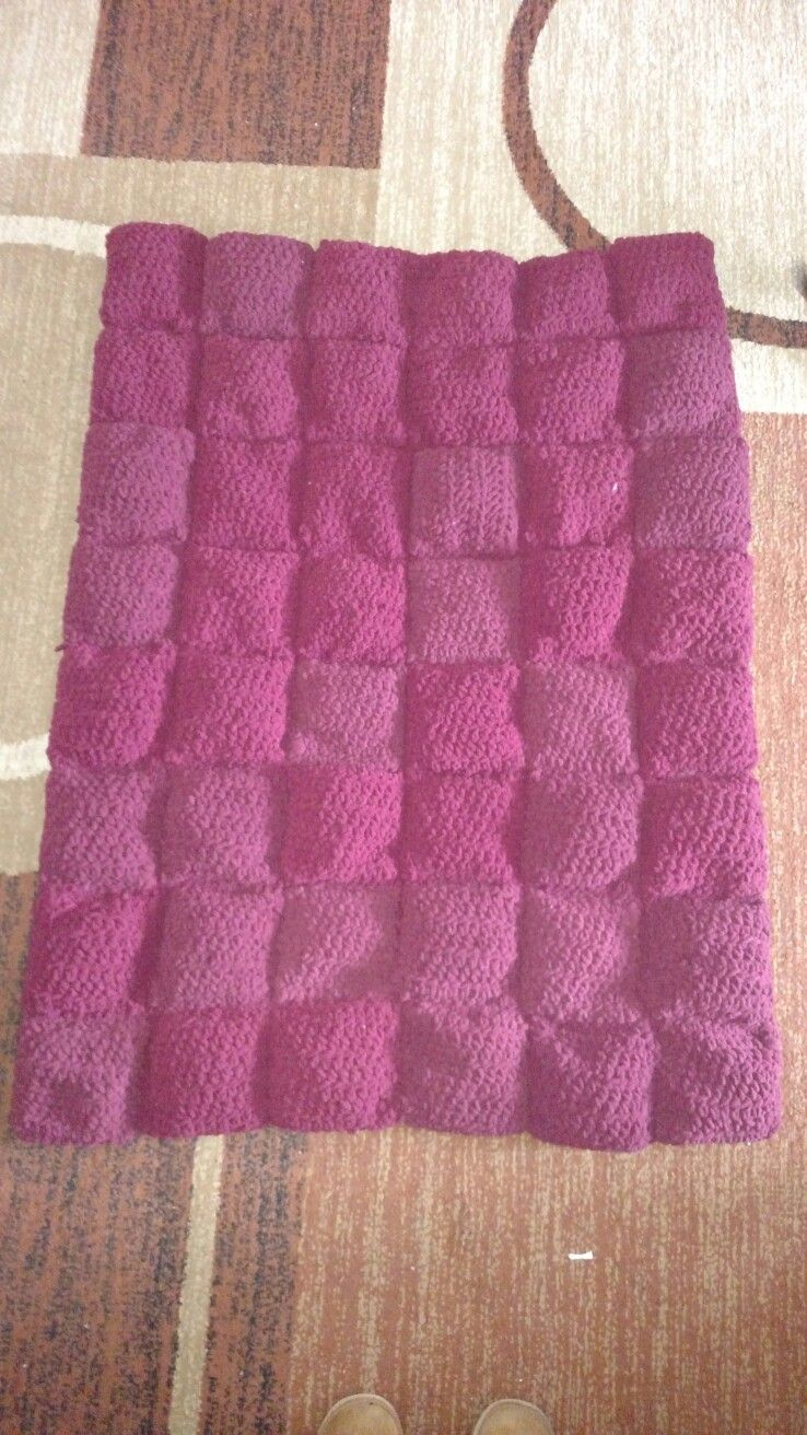 Crocheted Weighted Blanket Completed Projects Blanket Weighted