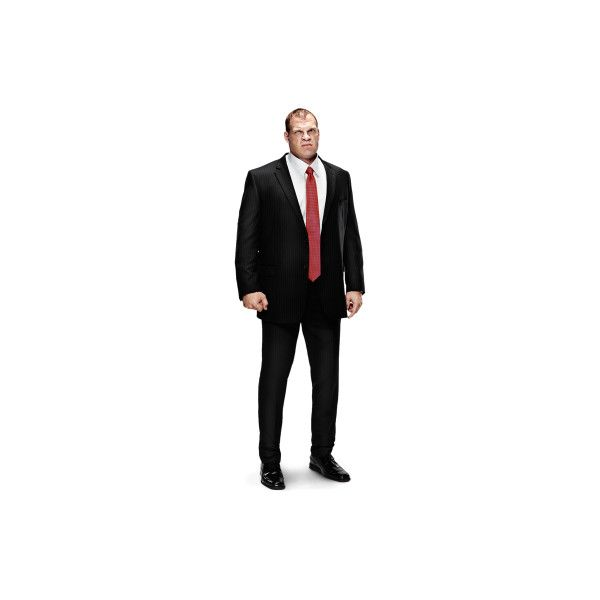 Kane ❤ liked on Polyvore featuring superstars, wwe, kane and people