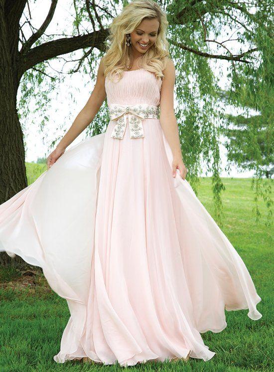 Bow Prom Dress