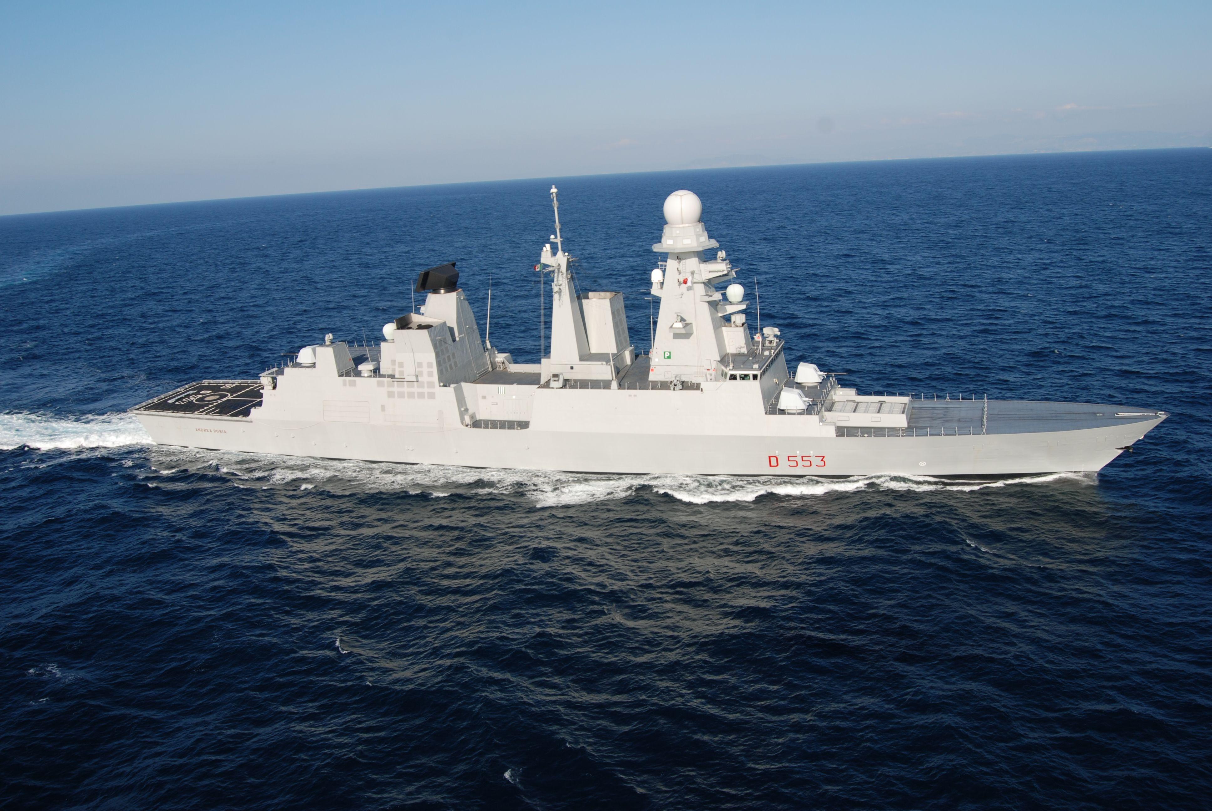 Destroyer Andrea Doria (D553) Marina Militare Italian