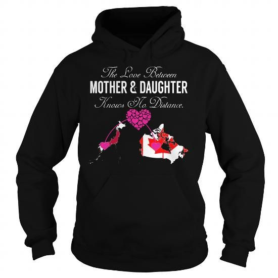 The Love Between Mother and Daughter Japan Canada T Shirts, Hoodies. Check price ==► https://www.sunfrog.com/States/The-Love-Between-Mother-and-Daughter--Japan-Canada-Black-Hoodie.html?41382