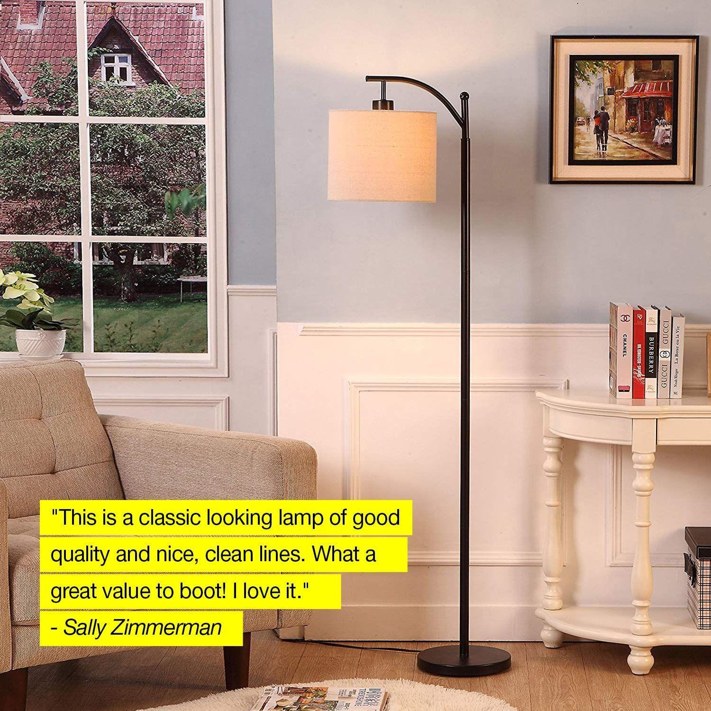 : Brightech Montage Bedroom LED Floor Lamp
