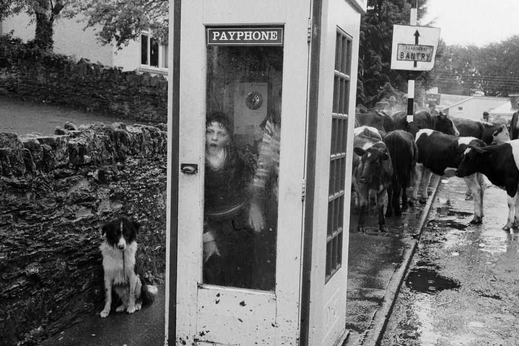 by Martin Parr Kenmare Fair, County Kerry, Ireland, August 1982. From 'Bad Weather'.