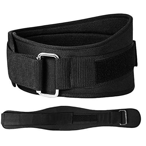 BODY BUILDING STRENGTH TRAINING WEIGHT LIFTING BELT GYM BACK SUPPORT