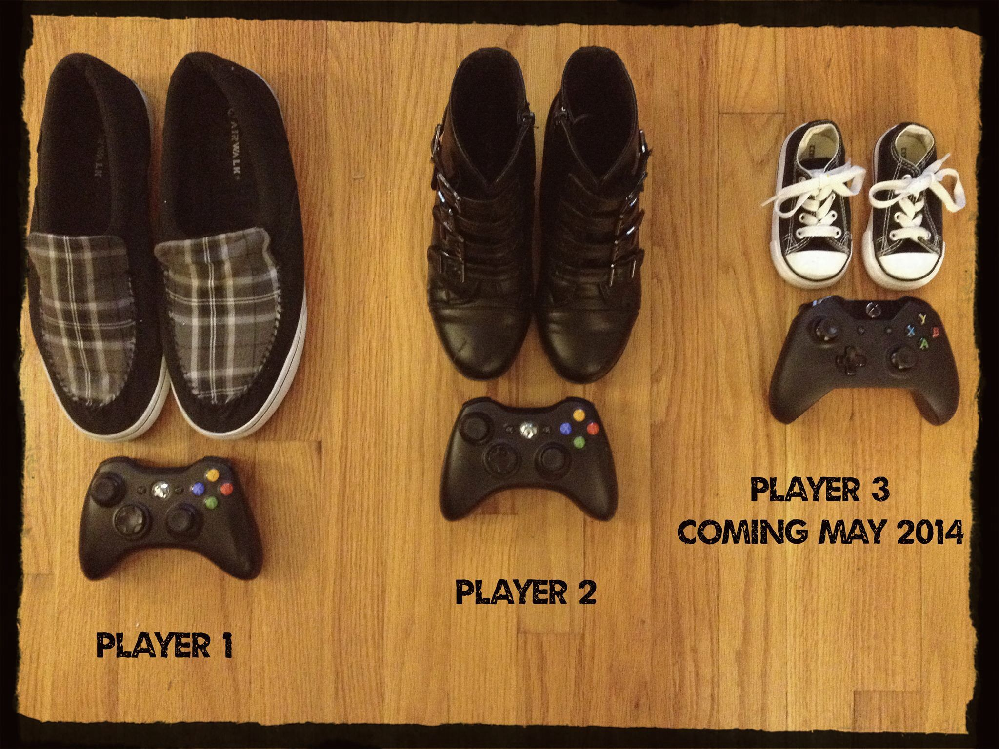 b0d0e6d0360 Gamer baby announcement! | For baby | Geek baby, New baby products ...