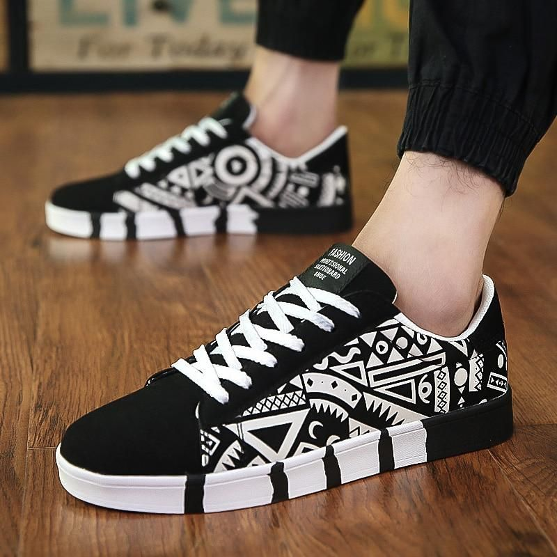 Casual Canvas Fashion Lightweight Lace Up Sneakers Tenis Para