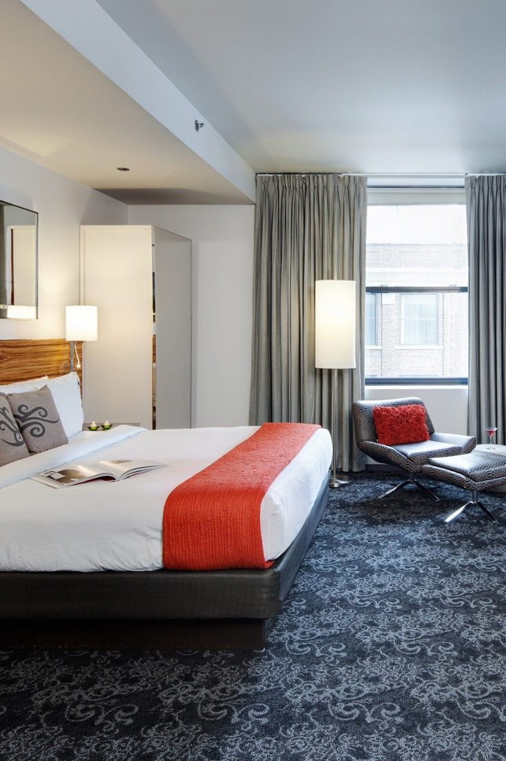 Deluxe King rooms are 350 square feet; borrow a Fender guitar and rock out. #Jetsetter