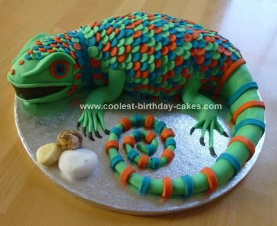 Easy Reptile Cakes