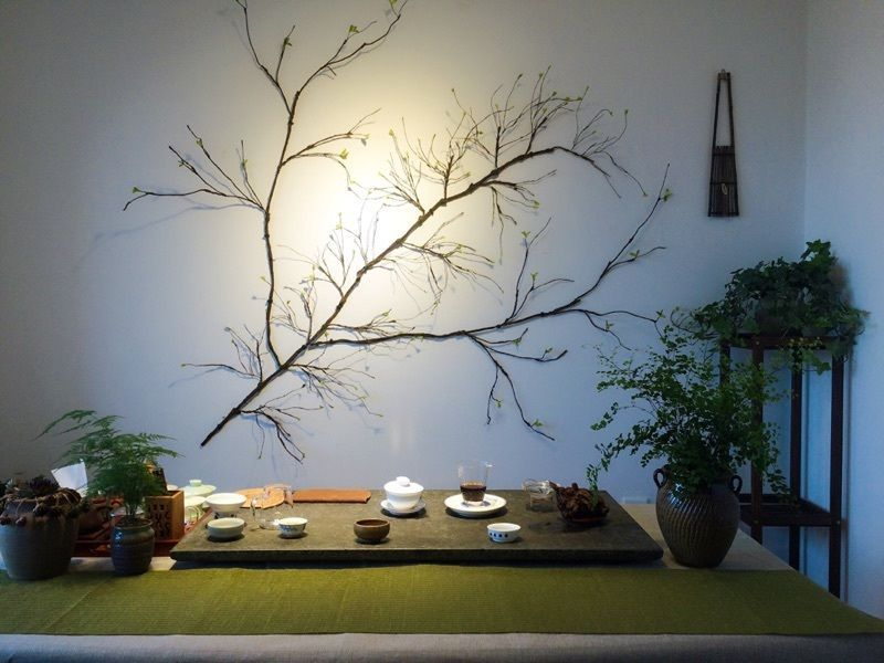 Diy Artificial Moss Flexible Dried Tree Branch Stem Twig Plant Home Wall Decor Tree Branch Wall Decor Twig Tree Tree Branch Wall