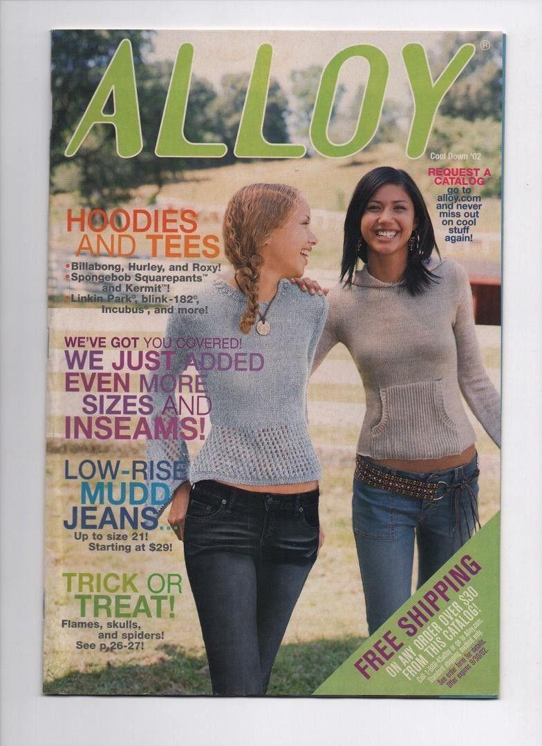 Alloy Cool Down 2002 Vintage Catalog Teen Girls Clothing Fashion Delia's  Delias | #1913470347