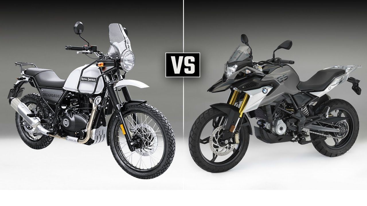 Royal Enfield Himalayan Vs Bmw G 310 Gs Best Adventure