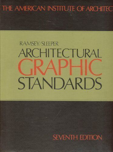 Architectural Graphic Standards 7th Edition By Charles