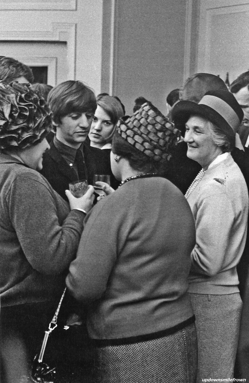 Ringo—look at him surrounded by all these women. :D