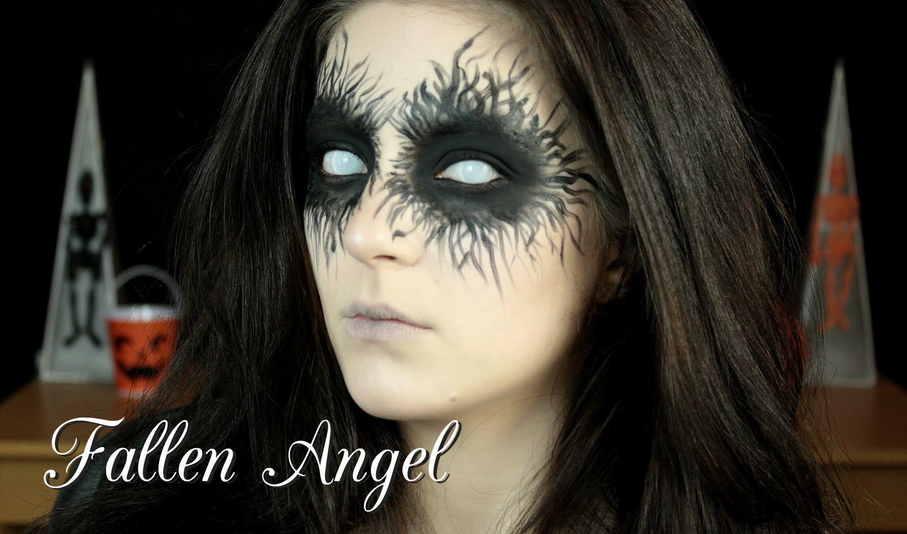 halloween tutorial: fallen angel | fantasy prone personality[fpp