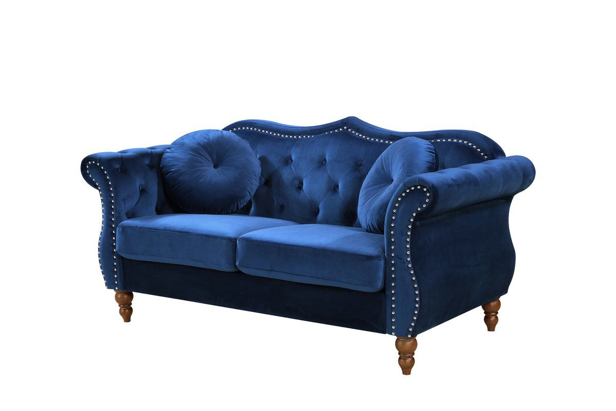 Best Bellbrook Classic Nailhead Chesterfield 65 5 Rolled Arms 400 x 300