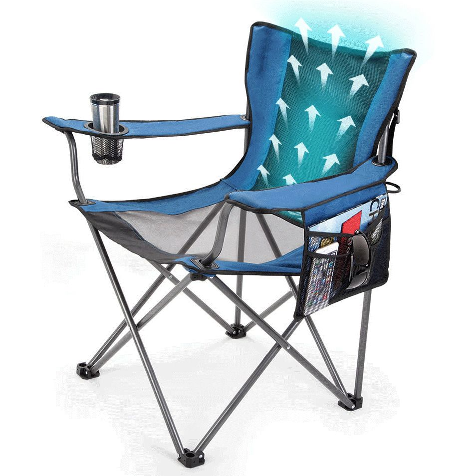 Cool Breeze Lawn Chair Is Lightweight And Portable To