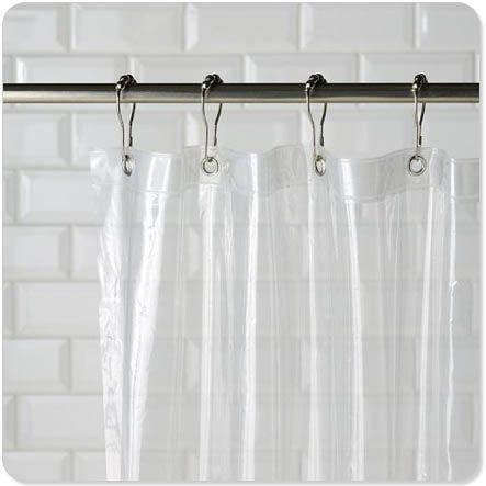 Clean Shower Liner In The Washing Machine With Detergent 1c