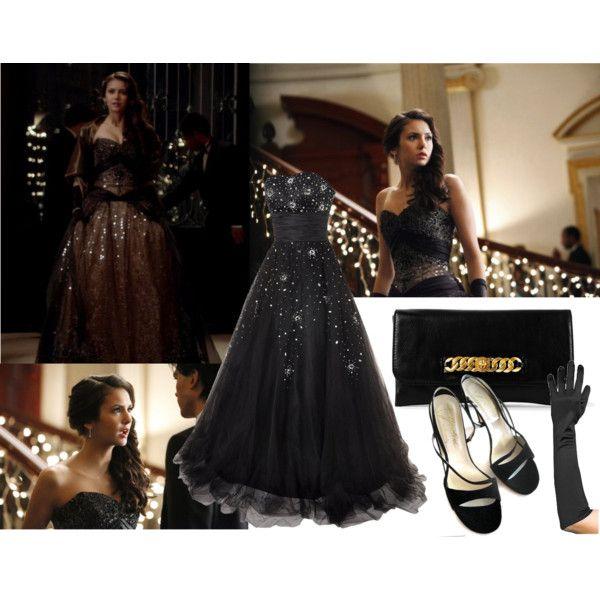 Elena in a Ball Dresses