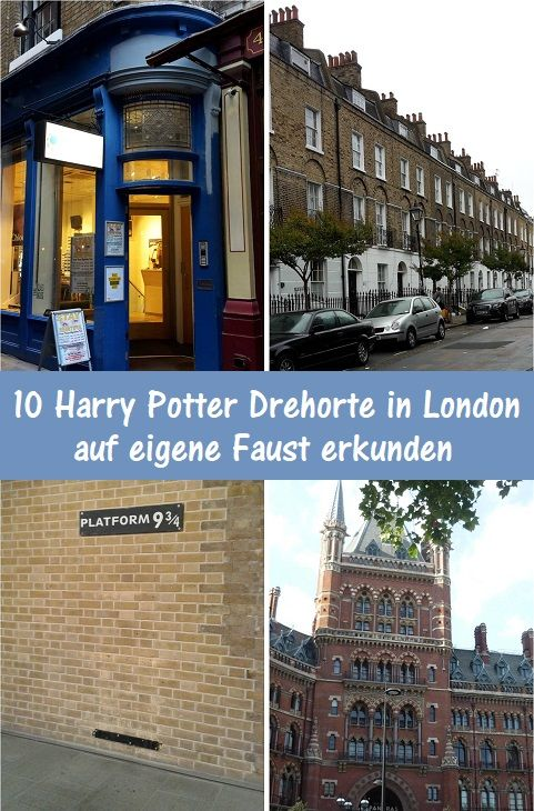 10 Harry Potter Drehorte in London #holidaytrip