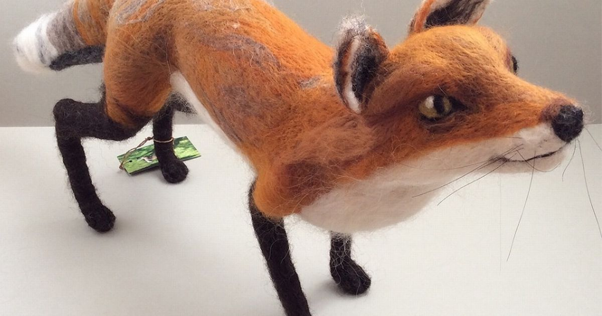 Pennine inspiration for animal-lover artist Zoe Stainton #feltcreations