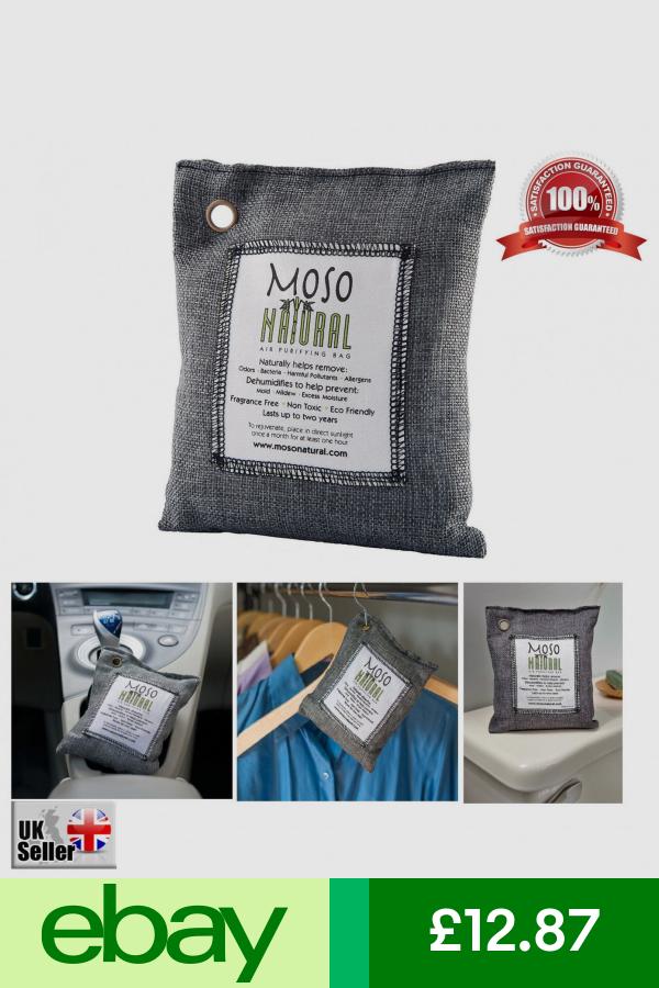 Moso Natural Air Freshener Home, Furniture & DIY ebay Уголь